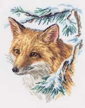 Fox Cross Stitch Kit Rto - $29.00