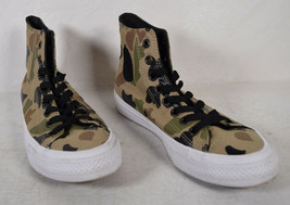 Converse Chuck Taylor All Star Hightop Camo Lunarlon Mens 6.5 Womens 8.5 - $44.55