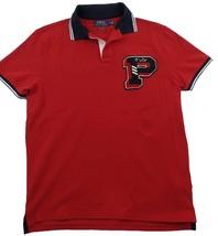 Polo Ralph Lauren Men's Custom Slim Fit Fashion Polo Shirt Ralph Red M L... - $64.95