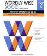 Wordly Wise 3000 8: Teacher's Resource Book: Systematic Academic Vocabul... - $25.36