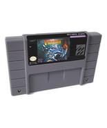 Super Turrican 1 2 SNES 16-Bit Game Cartridge English US NTSC Version video game - $21.05