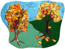 The Rake's Progress: Quilted Art wall hanging - $425.00