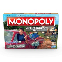Monopoly Jeff Foxworthy Edition Board Game Featuring Redneck Humor, Fast... - $28.32