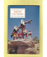 Book - INDIANS OF THE SOUTHWEST  American Geographical Society KNOW YOUR... - $2.50