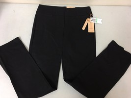 Women's GIBSON LATIMER Black Simply Slender Flattens Tummy Black Pants Sz 8 - $28.70