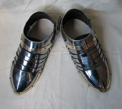 NauticalMart Medieval Sabatons Set Medieval Suit Of Armor Shoe - $199.00