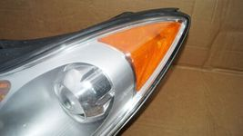07-12 Hyundai Veracruz Halogen Headlight Head Lights Matching Set LH&RH POLISHED image 4