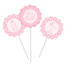 Centerpiece Sticks Its a Girl/Case of 18 - €28,50 EUR