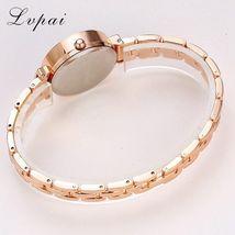 Lvpai® Women Fashion Luxury Watch Rose Gold Silver Ladies Bracelet Casual Dial image 5