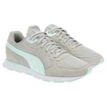 Puma Women Running Shoes Retro Runner Size US 6.5 Grey Mint - $22.94