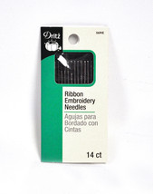 Dritz Ribbon Embroidery Hand Needle Assorted Size 56RE - $4.70