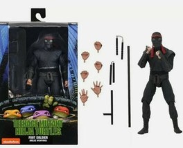 "NECA TMNT 1990 Movie 7"" Scale Action Figure OFFICIAL- FOOT SOLDIER MELEE... - $39.05"