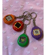 Set Of 4 Tamagotchi 1997 Vintage McDonald's Keychains For Kids Backpacks... - $49.00