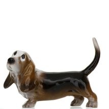 Hagen Renaker Dog Basset Hound Papa Ceramic Figurine image 12