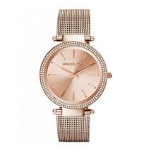 Michael Kors MK3369 Femmes Darci or Rose Ton Maille Bracelet Montre Chro... - $114.68
