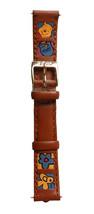 Disney Winnie L'Ourson Carrés Cuir Miel Fleur Bee 14mm Bracelet Montre D-112