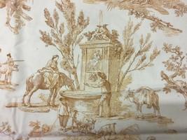 Stroheim & Romann Meryvale Pastoral Toile 2.25 yds Cotton Print Fabric - $85.50