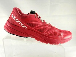 Salomon Womens Size 9 M Running Shoes So Ic Pro Size 9 M Red Athletic Sneakers - $56.50