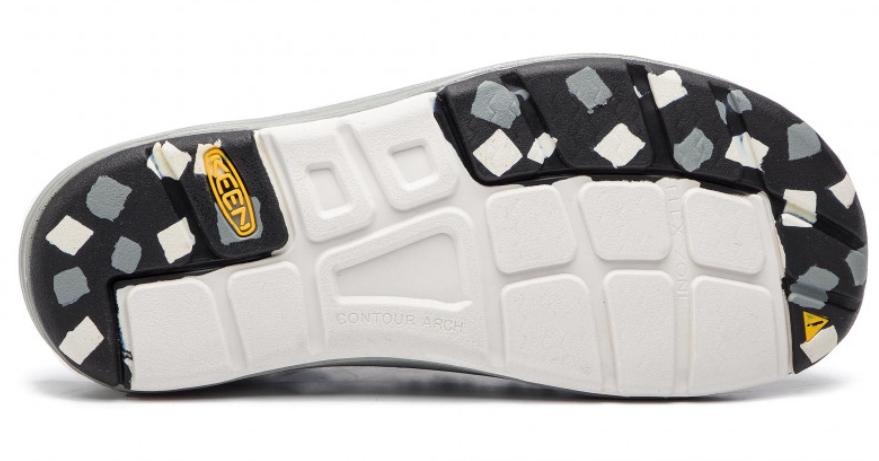Keen Uneek Flat Cord Size US 7 M (B) EU 37.5 Women's Sport Sandals Shoes Black image 7