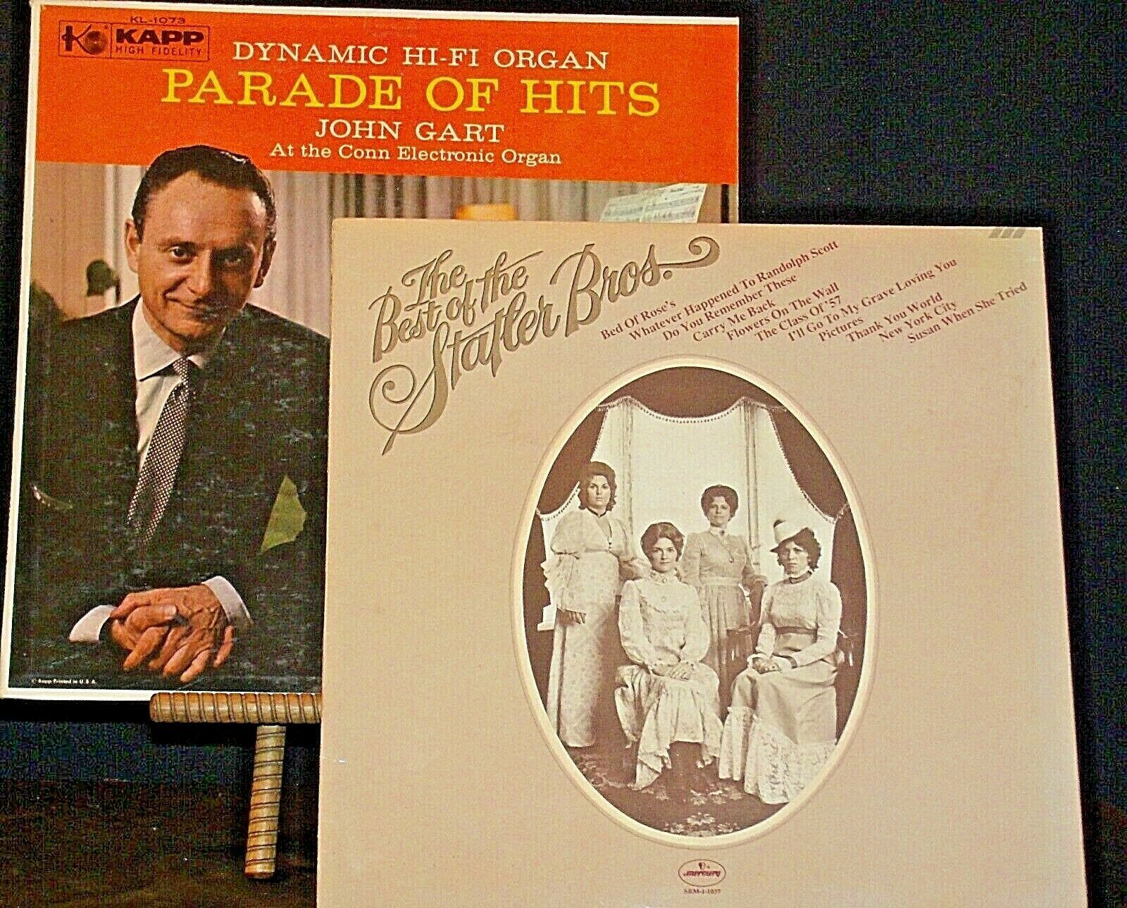 Parade of Hits John Gart and The Best of The Statler Brothers AA20-RC2125 Vintag