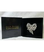 Original Never Worn Joan Rivers Classics Collection Silver Rhinestone Bo... - $99.00