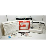 Toyota Mini Sewing Machine 6004 with Box, Cover and Manual ~ Tested  - $113.84