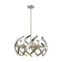 Elk Lighting 81255/6 Pendant Light, Satin Nickel - $470.76
