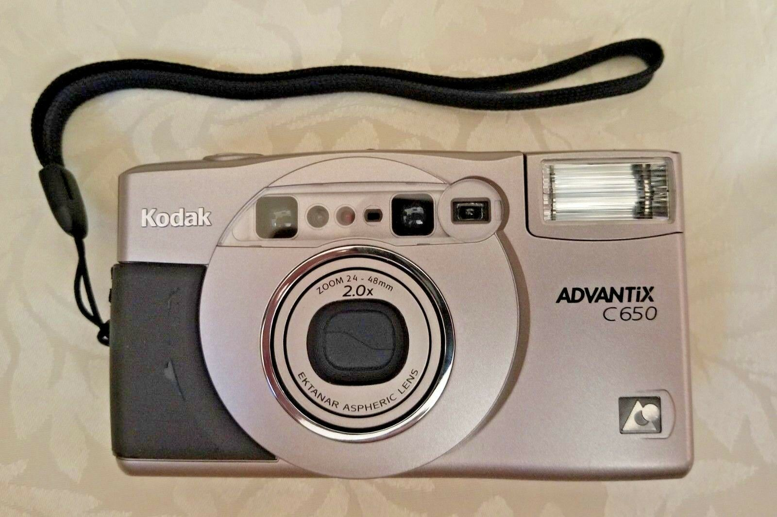 Kodak Advantix C650 Zoom APS Point & Shoot Film Camera