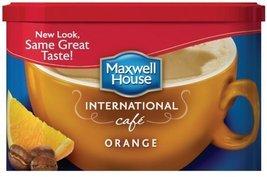 Maxwell House International Orange Cafe - 9.3 oz - $4.94