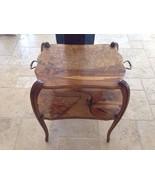 Antique Art Nouveau Inlaid Dessert Table by Victor Prouve – Signed –... - $6,950.00