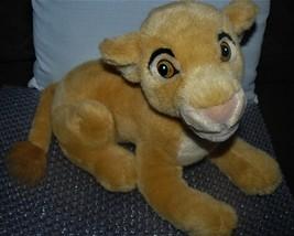 "Walt Disney World 13"" Laying Young SIMBA Plush - Lion King - Cub - $15.10"