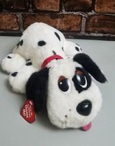 Mattel Pound Puppy Plush Stuffed Interactive Dog Dalmation 2004 Black Wh... - $33.94
