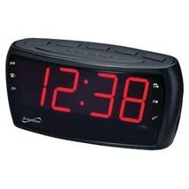 Digital AM/FM Dual Alarm Clock Radio with Jumbo Digital Display  - $20.99