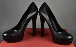 Authentic GUCCI Black Luxury Leather Pumps High Heels Women's Shoes IT Size 40 - $379.99
