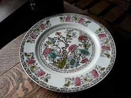 """Vintage Broadhurst Staffordshire Ironstone Indian Tree Dinner Plate 9-1/2"""" - $16.40"""
