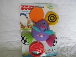Fisher Price Shake & Chime Mousey - Baby Rattle - Miracles & Milestones - New - $18.70