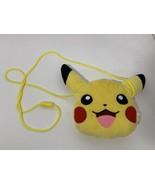 Pokémon Pikachu small plush vintage crossbody coin purse bag 1997 Nintendo - $9.89