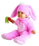 Precious Pink Wabbit Baby Halloween Costume Size 12-18 Months - $30.00