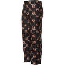 Boy's XL 18-20 Cincinnati Bengals Pajama Pants NFL Football Lounge Allover Print