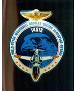 "T45TS HAWK Rolls-Royce McDonnell Douglas British Aero Sperry 6"" x 4-1/2""... - $9.89"