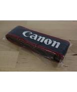 "NEW Canon EOS Digital Genuine Camera Neck Strap Black Red about 1.5"" Wide - $6.99"
