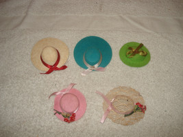 Vintage 1960s Barbie Skipper Francie Doll Hats lot - $59.39