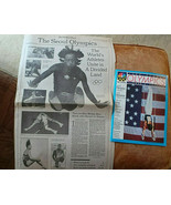 Lot of 2 Summer Olympics Seoul South Korea New York Times Preview Guides... - $9.79