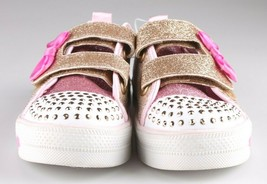 Toddler Girls' S Sport by Skechers Gold Crystal Stars Madelyne Light Up Sneakers