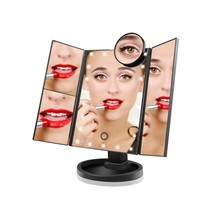 Eup mirror vanity for bedroom table make up mirrors cosmetic 10x magnifying glasses new thumb200