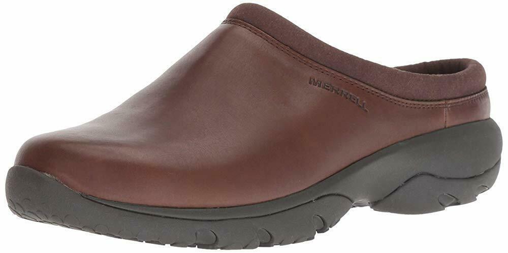 Merrell Mens Encore Rexton Slide Chill AC+ Mules & Clogs Shoes Dark Earth J95257