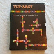Avalon Hill Boardgame Tuf-Abet Box EX Complete - $36.47