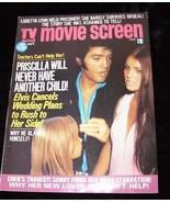 TV And Movie Screen Magazine October 1974 Elvis Presley Sonny & Cher Lor... - $15.99