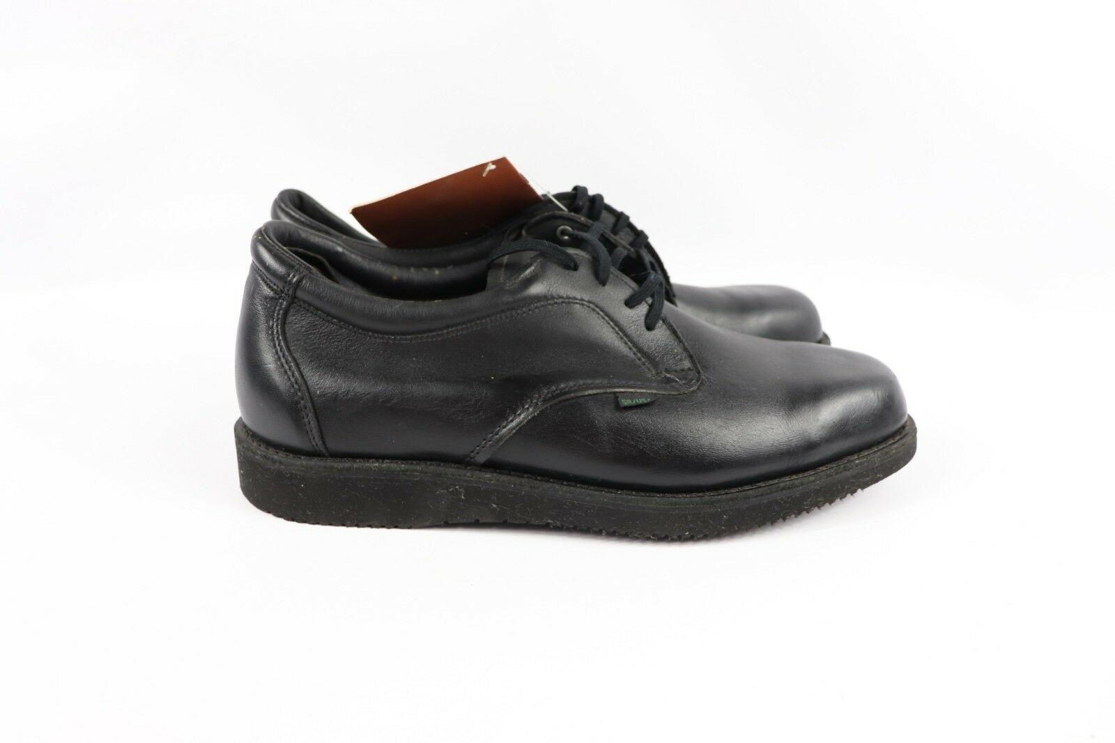 Vintage Nuevo Red Wing Shoes Hombre 11 D 9126 Punta Suave Cuero Oxford Cartero image 4