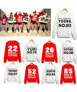 KPOP Girls' Generation Sweater SNSD TaeYeon Yoona Hoodie Sweatershirt Pu... - $12.99